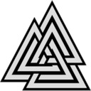 Symbol of Odin -The Valknut
